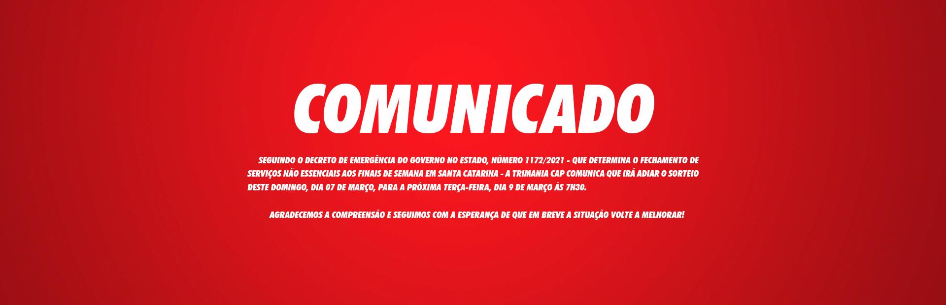 COMUNICADO 09/03/2021